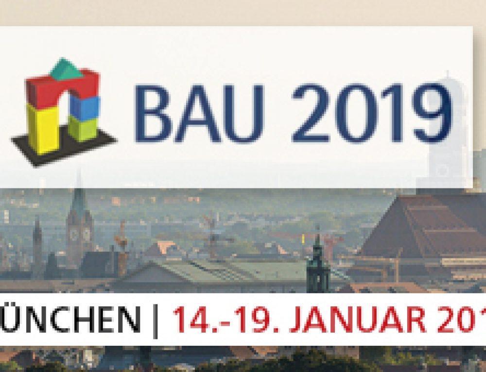 2019 startet mit der BAU in München